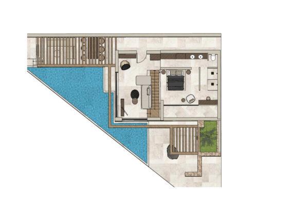 villa with infinity pool   ACRO SUITES- a wellbeing resort in Crete   Agia Pelagia, Heraklion, Crete