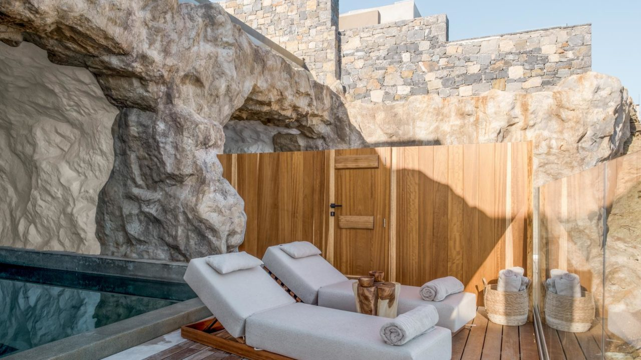suite with private pool crete | ACRO SUITES- a wellbeing resort in Crete | Agia Pelagia, Heraklion, Crete