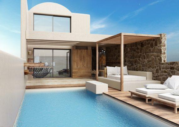 luxury suites in crete | ACRO SUITES- a wellbeing resort in Crete | Agia Pelagia, Heraklion, Crete